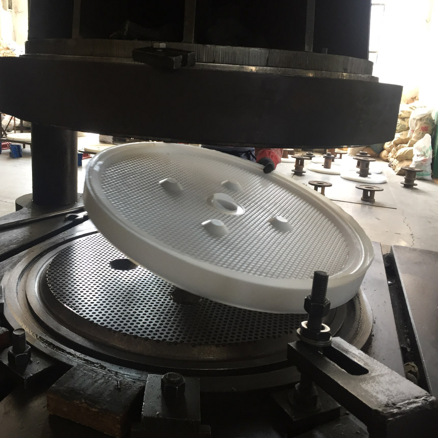 Round Filter Plate
